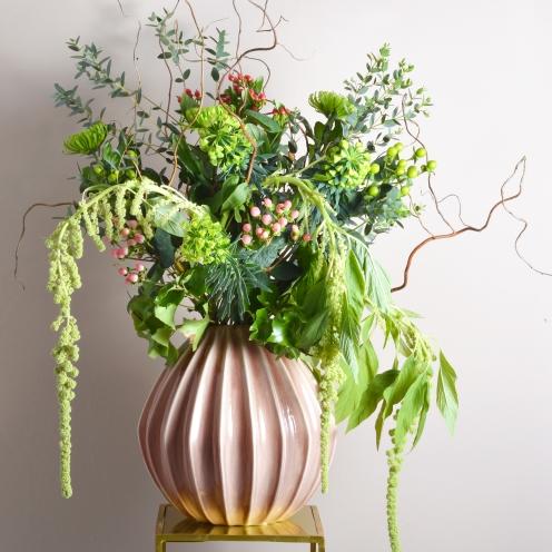 Rose Large Geometric Vase (1)