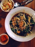 Noodle curry at Melting Wok Warung