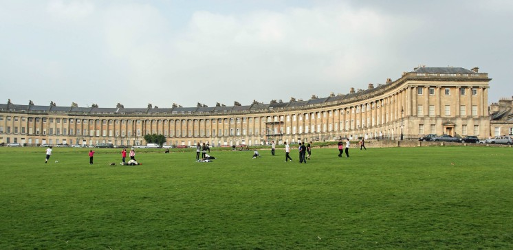 The Royal Crescent. Image by Photos By Clark via Flickr.