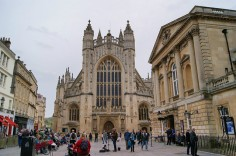 Bath Abbey. Image by Hugh Llewelyn via Flickr.