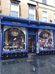 Quaint shops in Bath