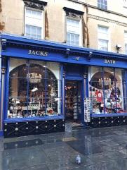 Quaint shops in Bath