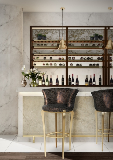 Bar Stools by Koket.
