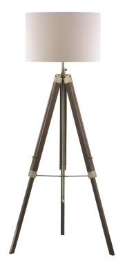 Easel Tripod Floor Lamp from Dar Lighting Group.