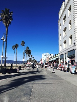 Venice beachfront.