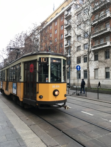 Could only take a pic of the 10 tram, as I was getting on the 1!