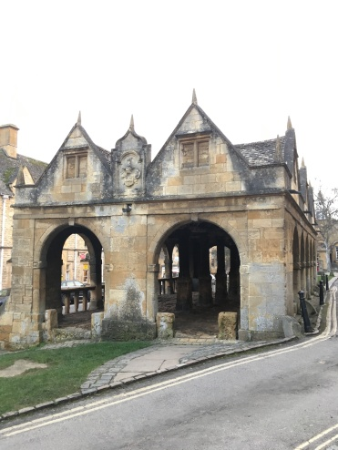 The remains of Chipping Campden Market Hall