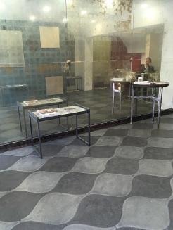 Wavy Lemon Sole tiled flooring in main entrance