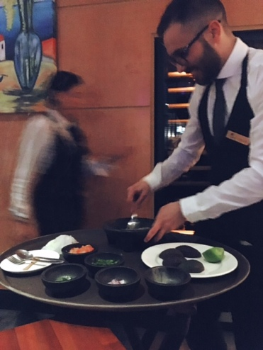 Guacamole prepared at your table
