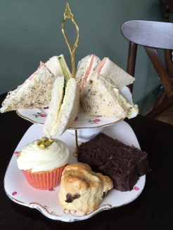 Afternoon Tea selection at Willow Bough Tea Rooms